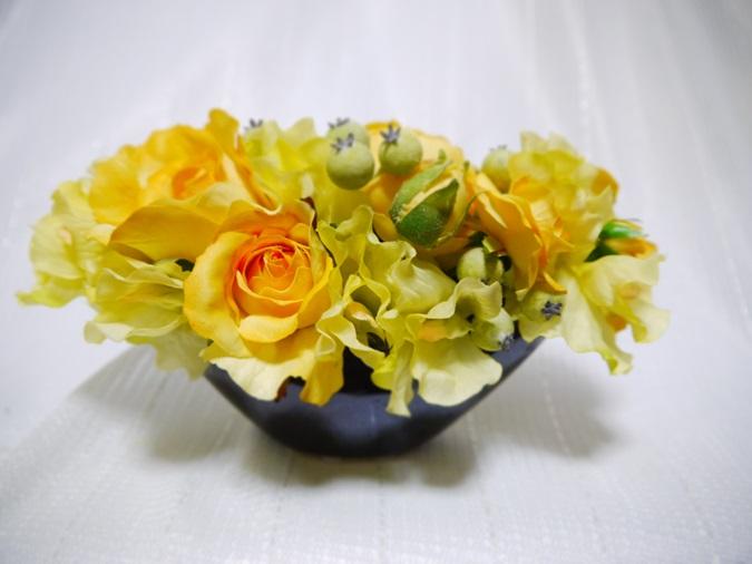 「黄色のアレンジ