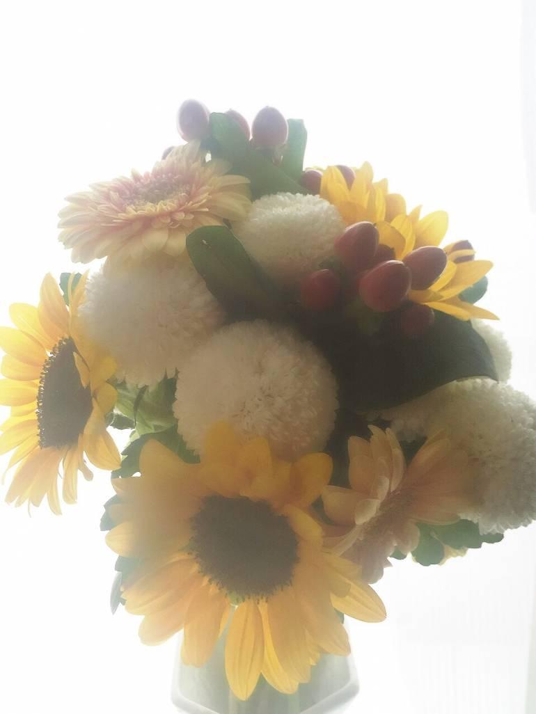 父の日お供えのお花も