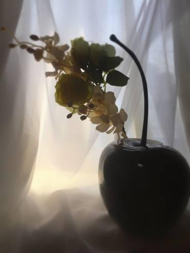 りんごのオブジェ