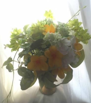 黄色のアレンジ