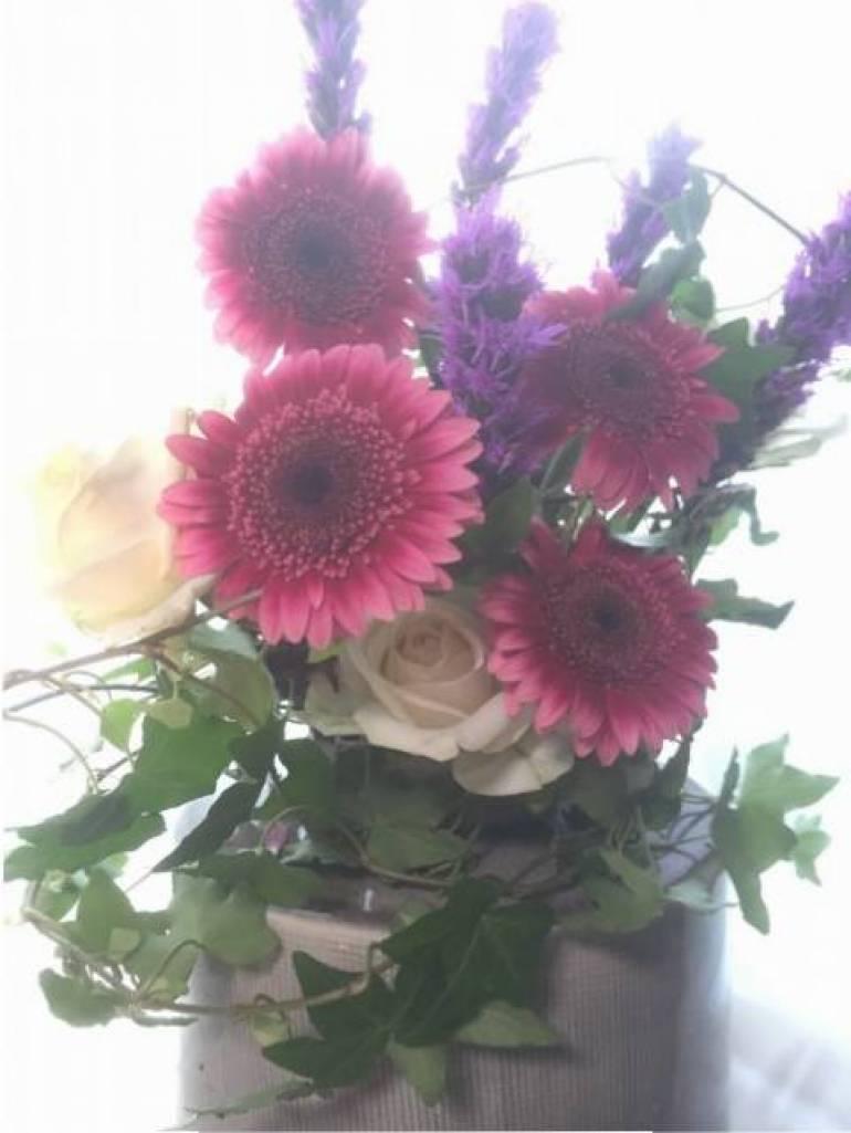昨日のお届け花束