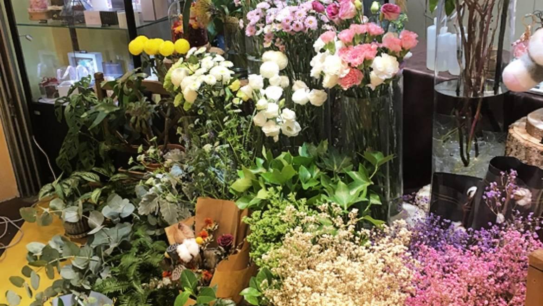 釜山のお花屋さん